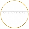 "Metal Rings 7""/17.8cm Brass"